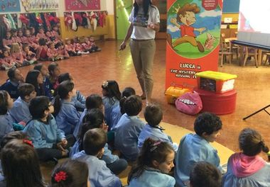 Jardim Escola João de Deus (Faro) recebe a Hora do Conto com Ligia Boldori - PARTE 2