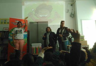 EB1/JI nº5 de Olhão recebe a autora Ligia Boldori