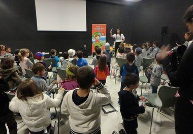 Biblioteca Municipal Álvaro de Campos em Tavira e a Hora do Conto com Ligia Boldori