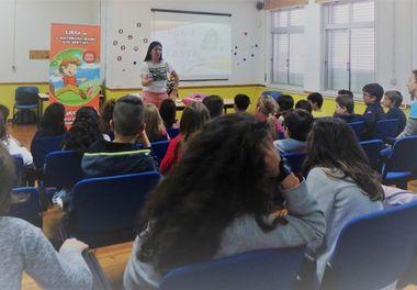 Semana da Leitura 2017 - Agrupamento de Escolas de Montenegro recebe a autora Ligia Boldori