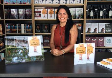 """86ª Feira do Livro de Lisboa - Sessão de autógrafos com Ligia Pereira Boldori """"Na Mala do Imigrante"""""""