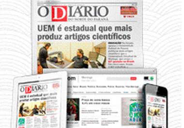 Entrevista sobre livro infantil em jornal O Diário do Norte do Paraná - Maringá -Brasil