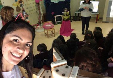 Sextas com Sorrisos 2018 na Biblioteca de Faro recebe o Externato Menino Jesus