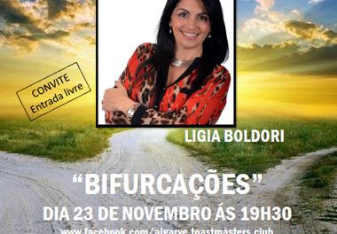 Algarve Toastmasters Club recebe Ligia Boldori para uma sessão especial