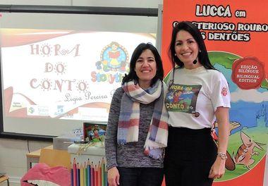 Biblioteca Municipal de Olhão e Ligia Boldori organizam ciclo de Histórias Sorridentes para as escolas do Concelho