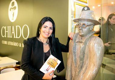 Clube Literário e Bar Chiado Editora:Um bom vinho, um bom livro..Na Mala do Imigrante – Ligia Pereira Boldori