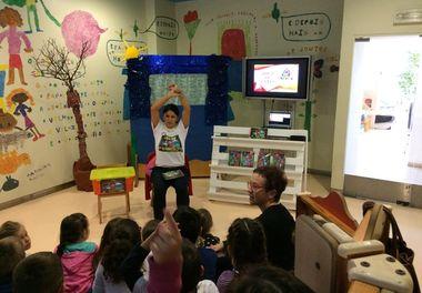 Histórias Sorridentes (4ºparte) com Ligia Boldori na Biblioteca de Faro