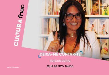 """Fnac promove a leitura em """"Deixa-me contar-te"""" com a escritora Ligia Pereira Boldori"""
