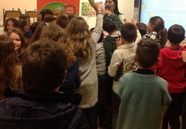 Dia 02 de fevereiro ...e as Histórias Sorridentes continuam na Escola de São Luís.