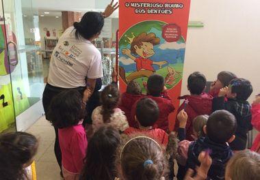 Histórias Sorridentes (5ºparte) com Ligia Boldori na Biblioteca de Faro