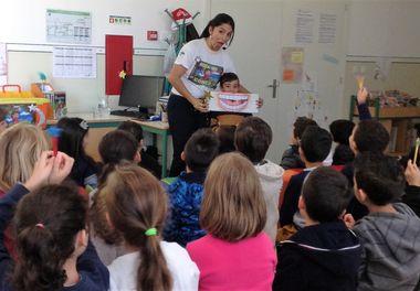 """Escola EB1 da Fonte Santa - Quarteira recebe """"Histórias Sorridentes com Ligia Boldori"""""""