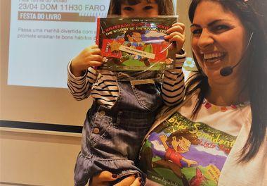Dia Mundial do Livro na Fnac é celebrado com as Histórias Sorridentes de Ligia Boldori