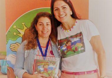 Centro Infantil da Santa Casa de Misericórdia de Faro recebe as Histórias Sorridentes com Ligia Boldori