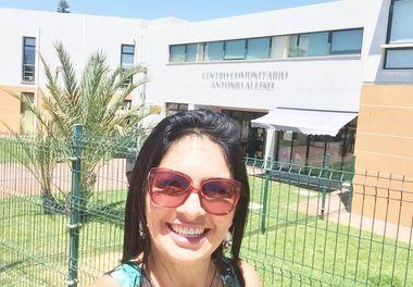 A Fundação António Aleixo, em Quarteira, recebeu a Hora do Conto com Ligia Boldori !
